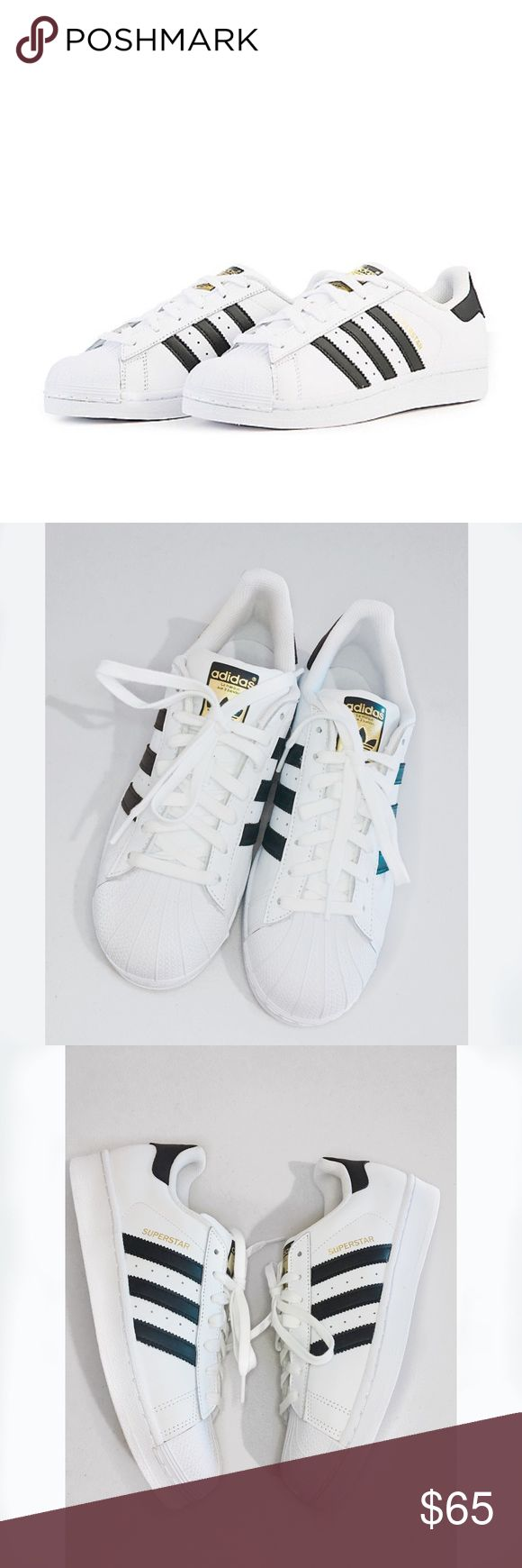 ADIDAS Superstar Floor Sample • Never worn outdoor • No tags or box • No Defects adidas Shoes Sneakers