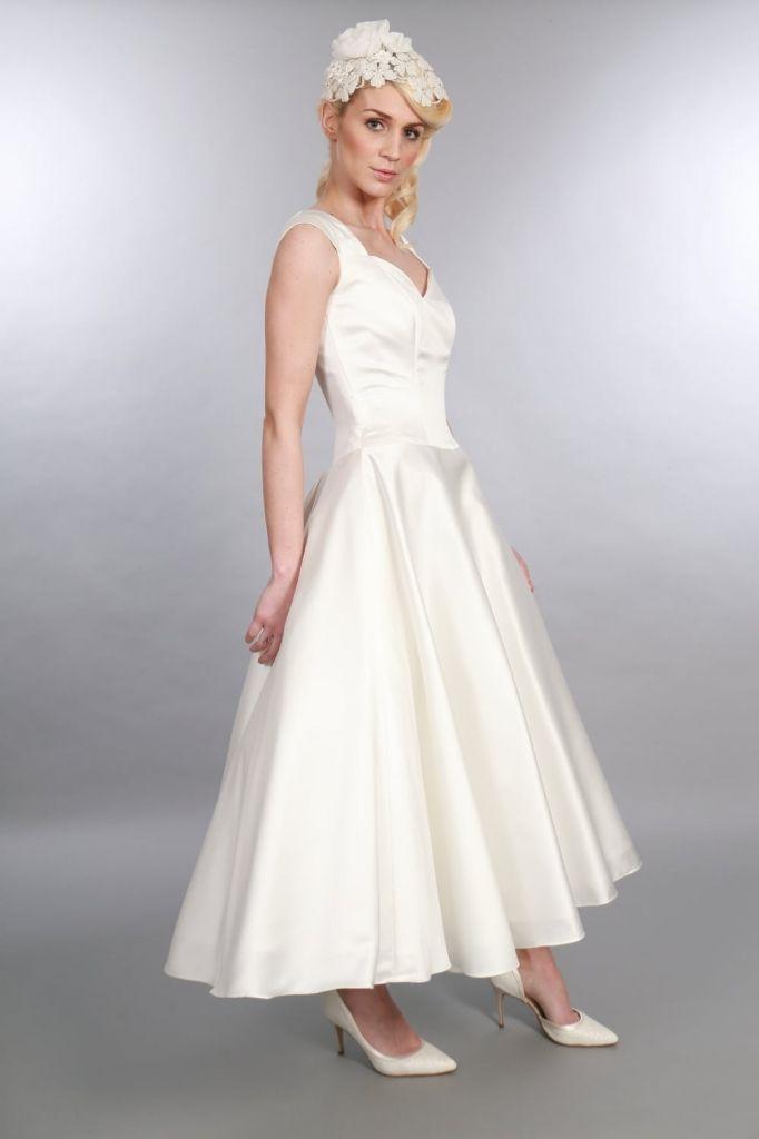 86 best Short & Tea Length Wedding Dresses, Short Vintage Inspired ...