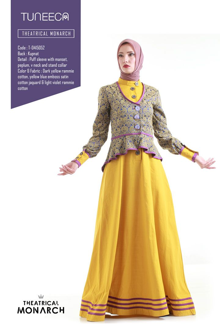 The Sense Of Harmony by Tuneeca  #tuneeca #muslimwear #hijab #fashion #ethnic