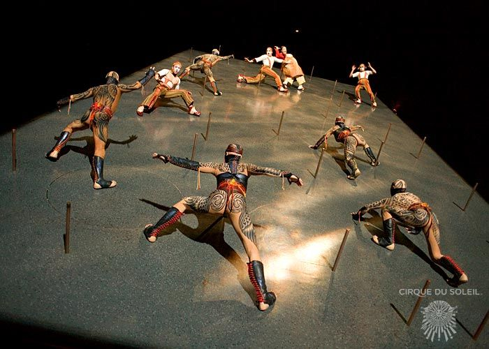 Cirque Du Soleil, KA, Vertical Wall. Absolutely Ah Maze Ing