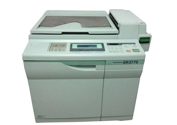 Refurbished duplicator risograph machine GR3770 /skype :emmaluo5
