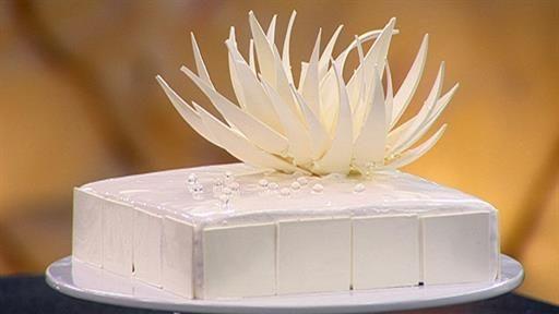 Zumbo V8 Cake from Master Chef Australia. The V8 is for 8 Vanillas!
