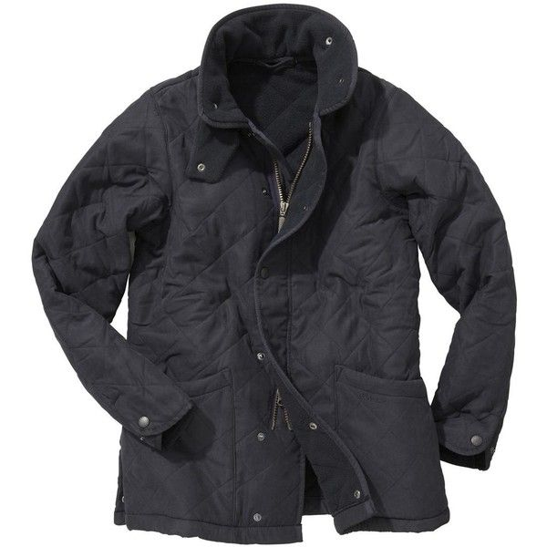 Boys Barbour Microfibre Polarquilt Jacket Ages 10-15 (380 BRL) ❤ liked on Polyvore featuring jackets and outerwear