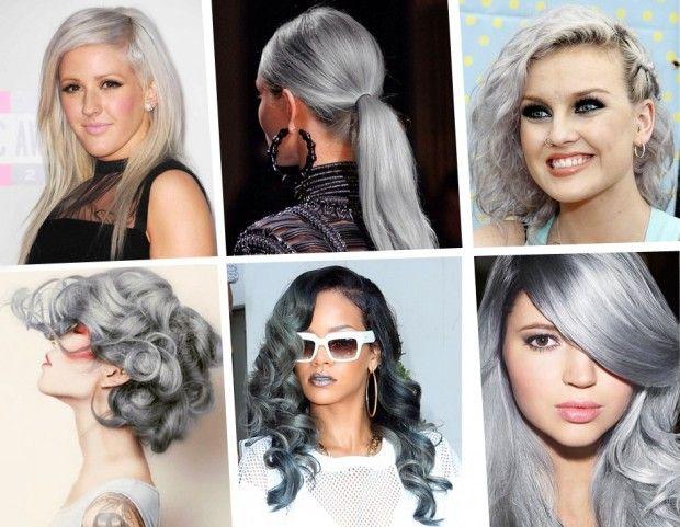 Capelli grigi argento: il nuovo colore di tendenza
