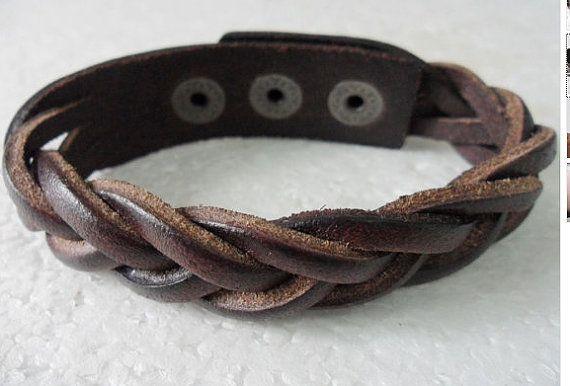 Jewelry Bangle bracelet women Leather Bracelet by braceletcool, $5.50