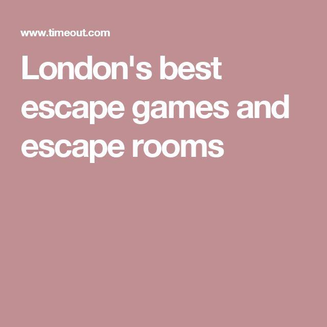 London's best escape games and escape rooms