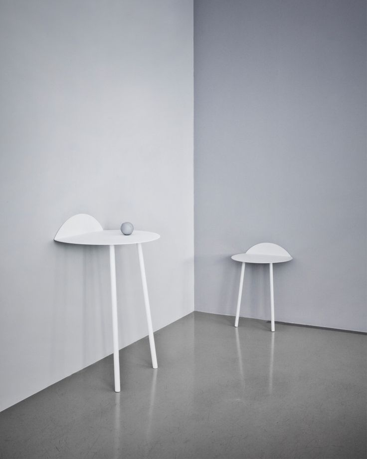 Yeh Wall Table Low in White by Menu