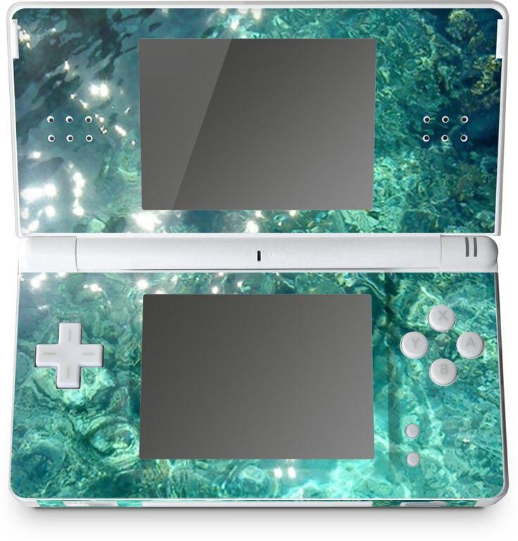 Water Nintendo DS Lite Skin - Available Here: http://nuvango.com/sondersky/water/nintendo-dslite