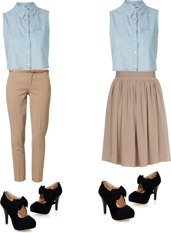 """my coolest idea of a school uniform:20th set!!!"" by bunnymarshmellows ❤ liked on Polyvore"