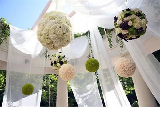flower pompoms