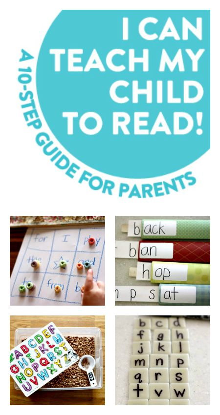 Learn to read activities - great tips for parents.