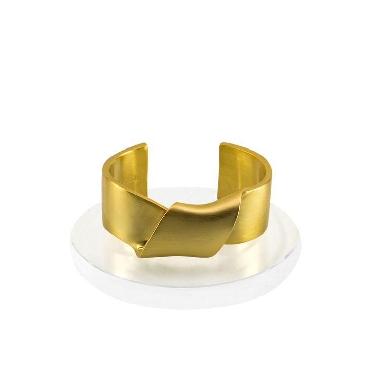 Sayulita Twist Cuff Bracelet - 14K Gold