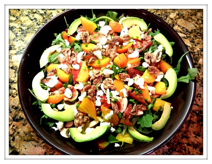 Image result for autumn salad