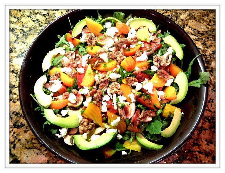Image result for autumn salad