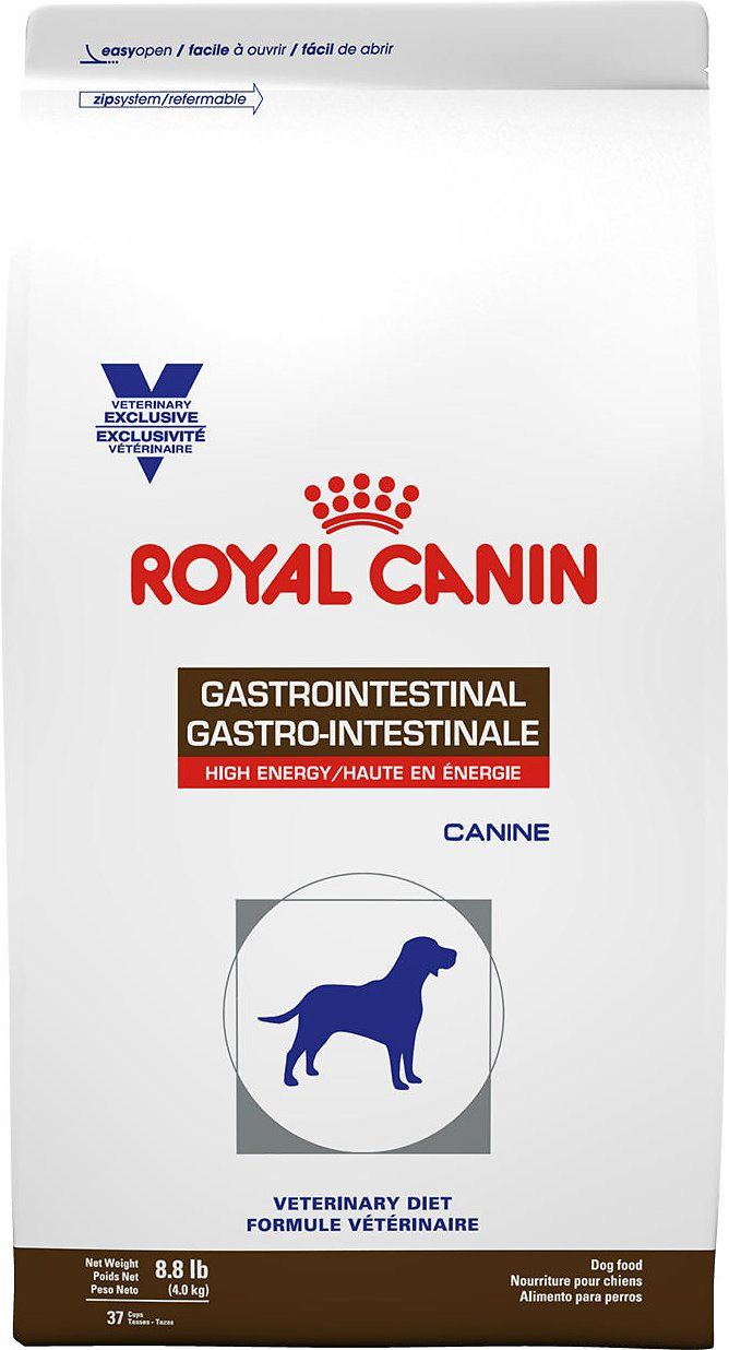 Royal Canin Veterinary Diet Gastrointestinal Dry Dog Food 8 8 Lb Bag Chewy Com Dog Food Recipes Dry Dog Food Veterinary