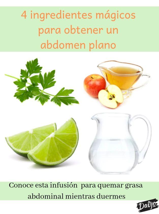 Vinagre de manzana perejil y limon para adelgazar