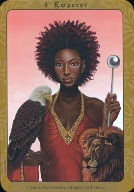 Emperor from the Affirmations for the Everyday Goddess Deck