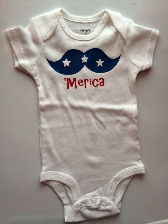 Baby boy baby girl Toddler Boy bodysuit shirt - my first 4th of july outfit  - baby girl first 4th - July 4th shirt - merica shirt - 31 Best First 4th Outfit! Images On Pinterest Holiday Outfits