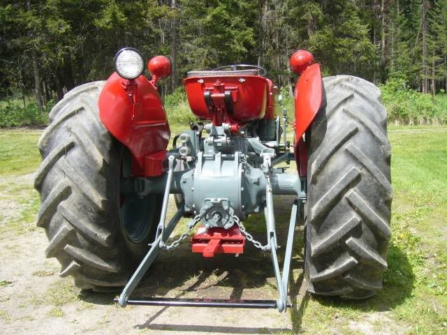 massey ferguson 135 travel with arms up or down - Google Search