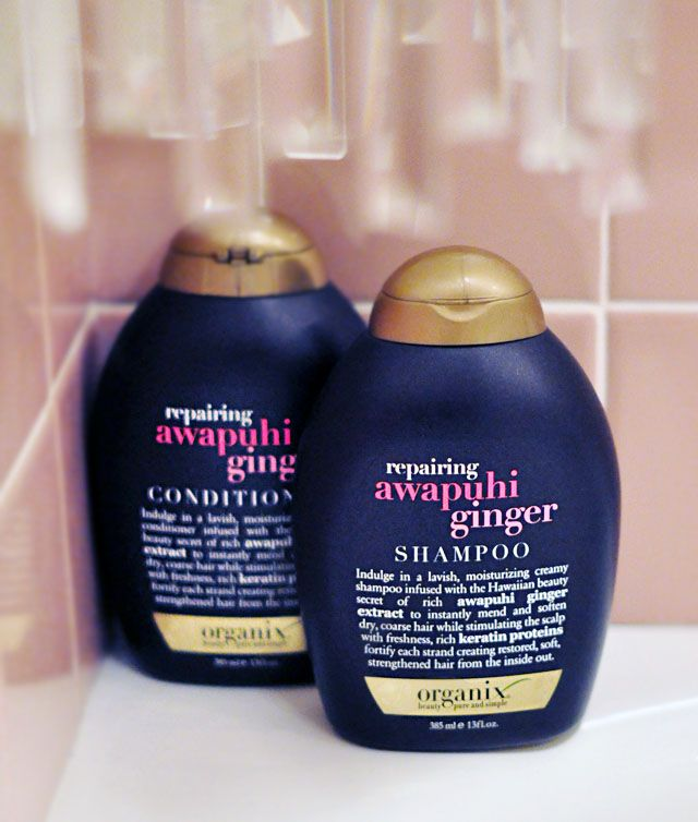 Awapuhi ginger shampoo & conditioner