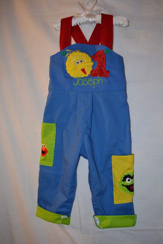 Boys Sesame Street Jon Jon Birthday Party by boogerbearpunkinpooh, $50.00
