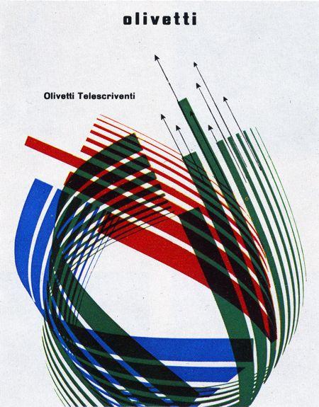 Walter Ballmer, Olivetti booklet cover, 1966