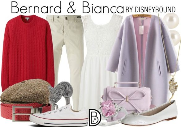 Get the look! Bernard & Bianca