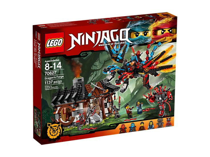 Buy LEGO NINJAGO Dragon's Forge NEW 2017 for R1,889.00