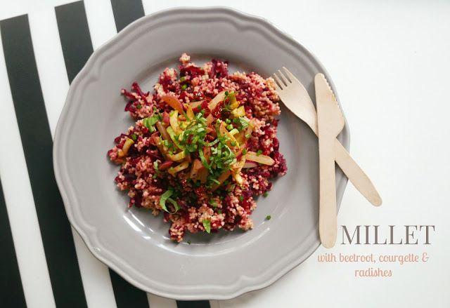 #millet #vegan #vegetables