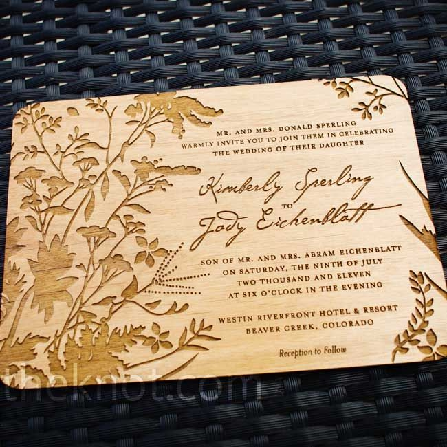 17 best ideas about wood invitation on pinterest wood