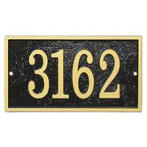 Found it at Wayfair - Fast and Easy Rectangle House Numbers Plaque