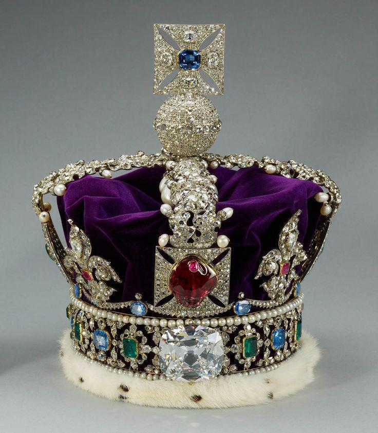 Cullinan II – The Imperial State Crown #DiamondJubilee Read more: