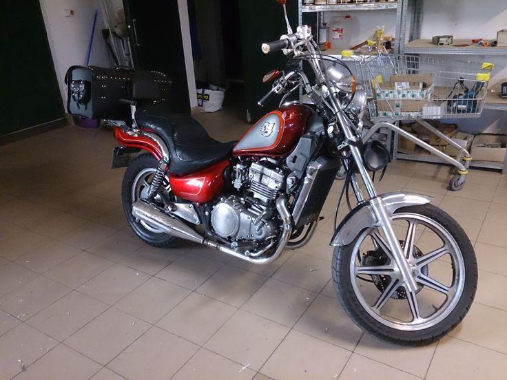 Kawasaki EN500 before my job