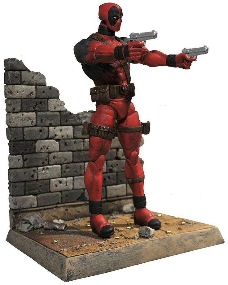 Deadpool Action Figures Toy 7 Inches Kids Toys Christmas Gift For Kid Toy Figure #DiamondSelect