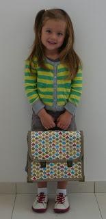 School Bag Tutorial - Mie Flavie: Handleiding boekentas