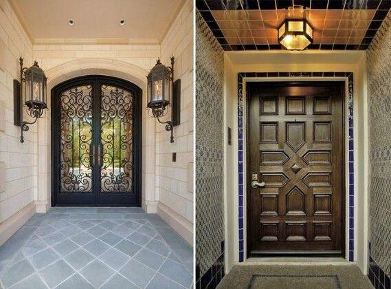 Стильные и необычные входные двери