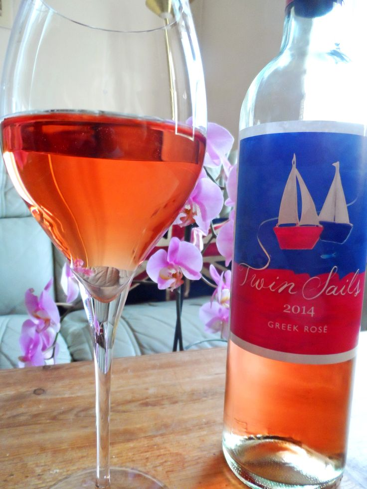 Pretend you're sipping wine on a tropical beach with this Twin Sails rosé!