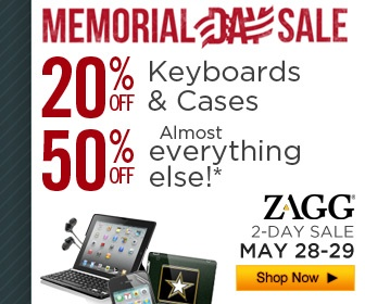 Last hour to enterhttp://www.zagg.com/community/contest.php Huge ZAGG Memorial Day Sale