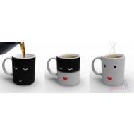 Color Changing Morning Coffee Mug  CoolColors Change, Geek Living, Crafts Ideas, Change Mornings, Gift Ideas, Mornings Coffee, Morning Coffee, Coffee Mugs, Feelings
