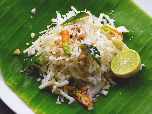 Quick Indian Cabbage Salad