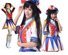 AKB48 Disfraz Japonesa Idol Girl Grupo School Uniform Vestido Disfraz de cosplay de