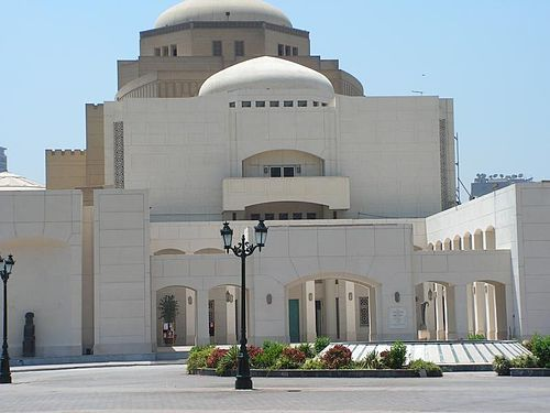 Cairo Opera House, at the National Cultural Center, Zamalek district.