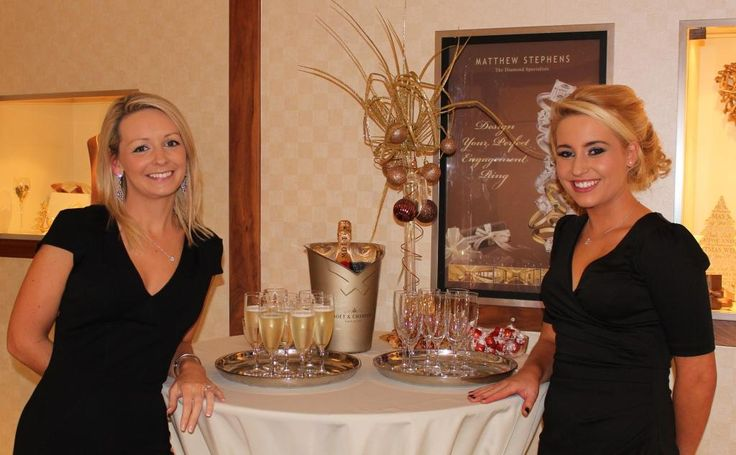 Chocolates and Champagne at Matthew Stephens Jewellers - The Diamond Specialists.