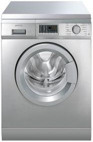 SLB147XD: Waschvollautomat, Edelstahl, 60 cm, Effizienzklassen A+B. Schauen Sie selbst auf www.smeg.de
