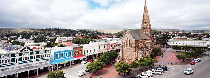 Learn about the city of Grahamstown, South Africa