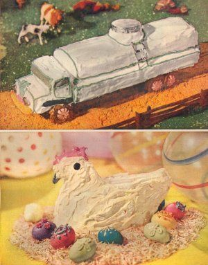 Vintage Good Housekeeping's New Book of Cake Decorating Magazine Pages ~ 23 Cakes ~ 1957