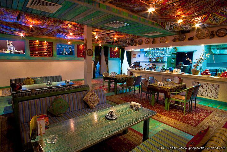 Фотосессия интерьера ресторана «Урюк» в кинотеатре «Варшава».