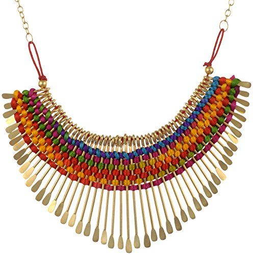 Nnits Multicolor Non-Precious Metal Choker Necklace For Women - http://www.zazva.com/shop/women/nnits-multicolor-non-precious-metal-choker-necklace-women/ Material: Non-Precious Metal Color: Multi-Colour Clasp Type: Lobster Claw Clasp