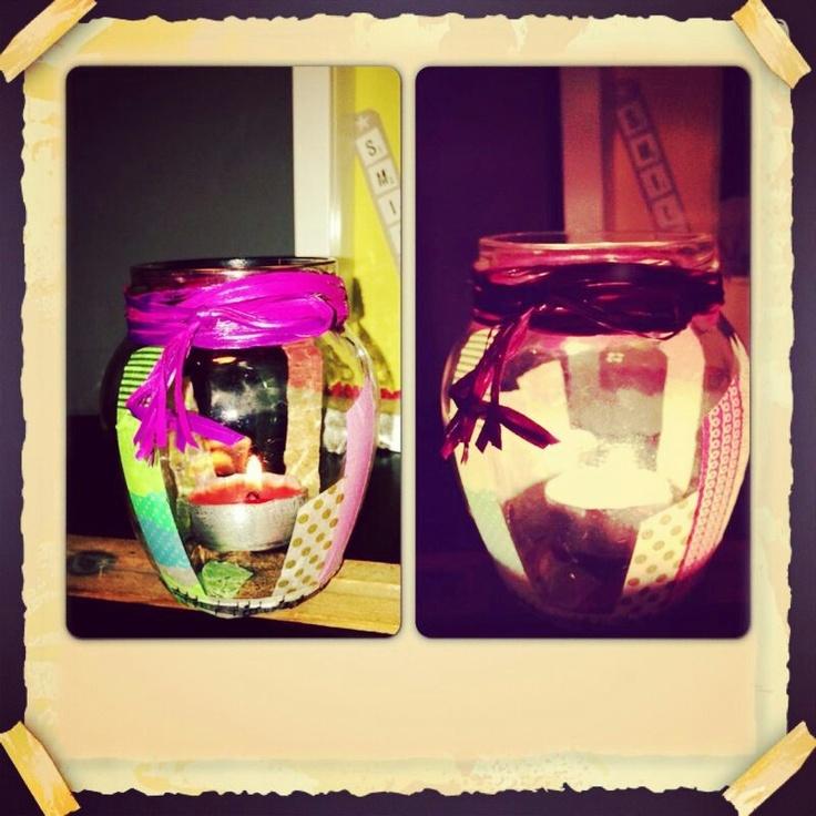 Washi jar