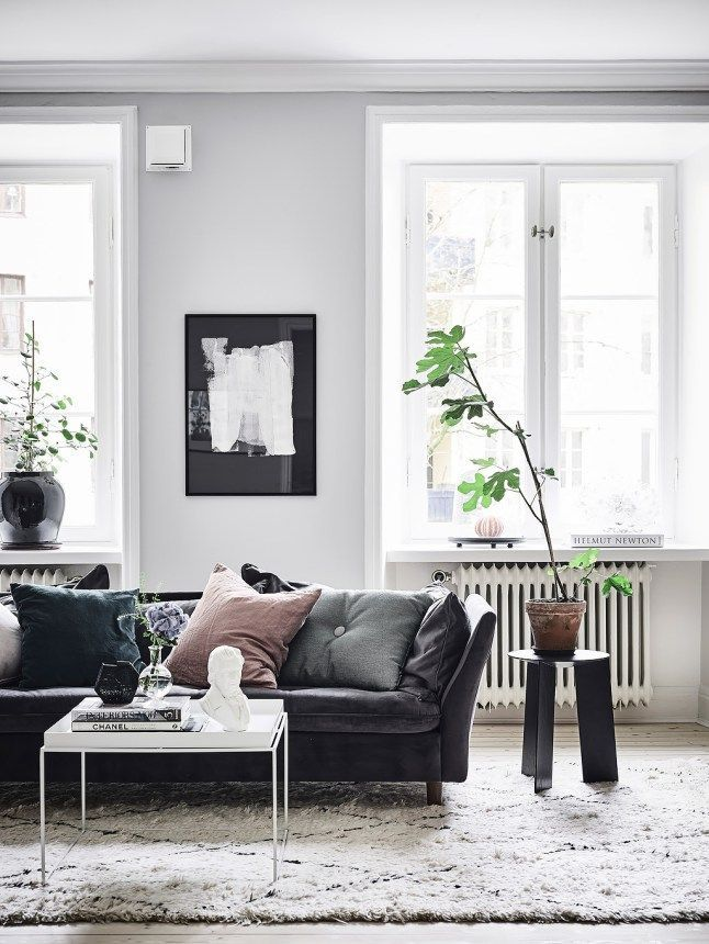 28 Living Room Decorating Ideas With, Living Room Decorating Ideas With Black Leather Furniture
